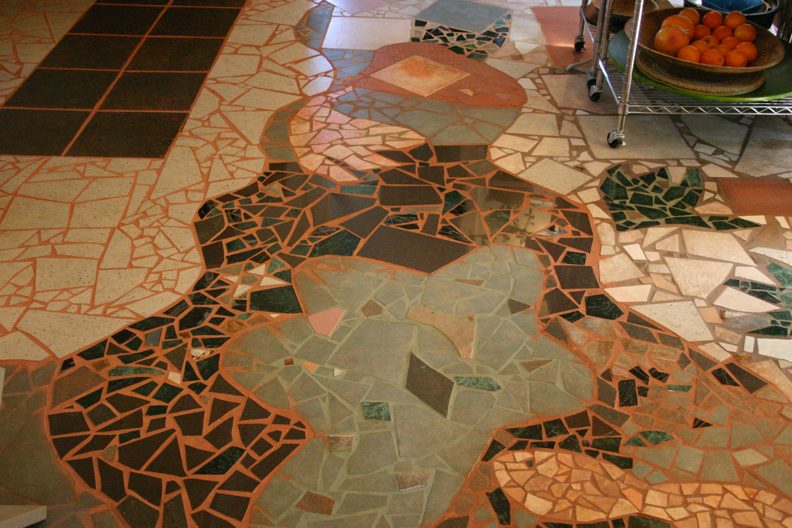 MAP office, Mosaic Floor