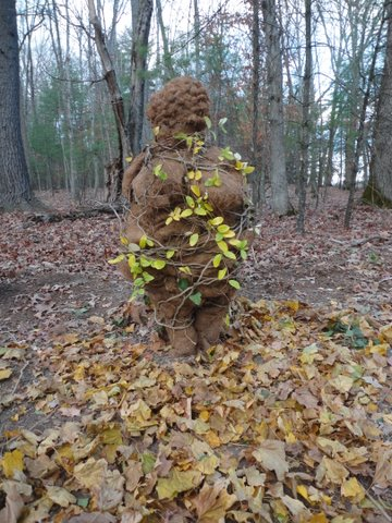 Acorn woman (or woman of Willendorf), from A brief history of the whirled in shrubbery