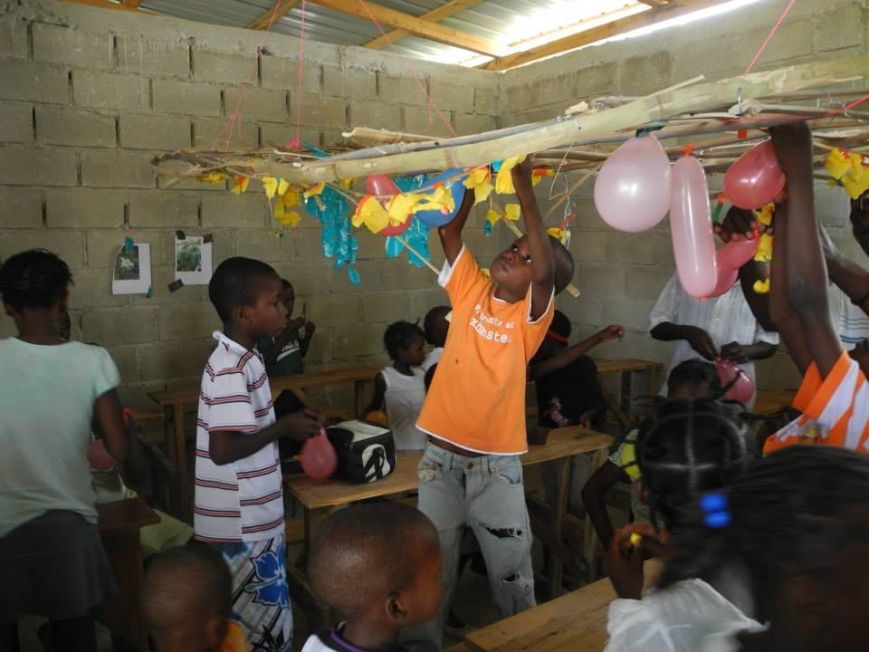 Bwa Nef School, Port-au-Prince, Haiti.