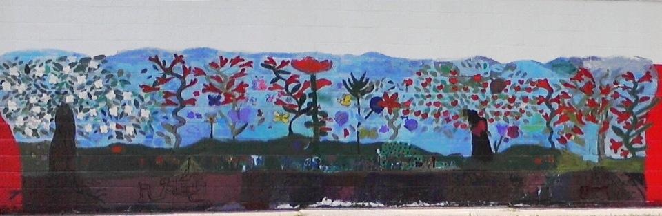 Welcome Pollinators! Mural