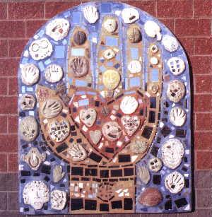 All Hands Mosaic Mural